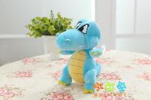 10 pieces a lot small cute plush crocodile toy blue creative crocodile doll new crocodile gift about 18cm