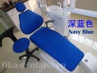 치과 재료 치과 의자 천 커버 탄성 의자 치과 단위 유니폼 사이즈 네 조각/세트