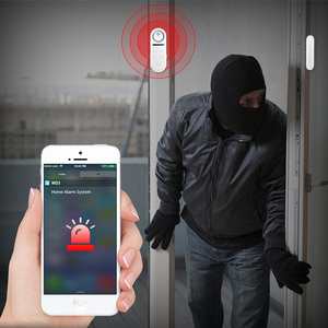 Image 4 - KERUI WIFI เซ็นเซอร์ประตูหน้าต่างคู่แม่เหล็กเครื่องตรวจจับ 120dB 4 รหัสผ่านดิจิตอล Welcome ALARM Home Security