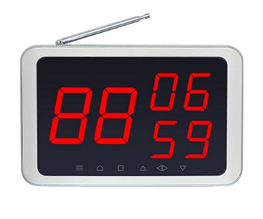 Waiter calling system wireless table call display receiver, hotel/coffee shop/hospital/restaurant guest service pagerWaiter calling system wireless table call display receiver, hotel/coffee shop/hospital/restaurant guest service pager