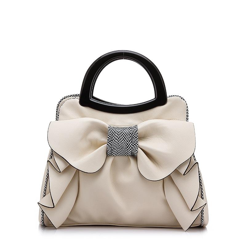 Women's Beautiful Floral Tote Bag  New Fashion Women Messenger Bag Bolsa Feminina Ladies Handbags With Big Bow