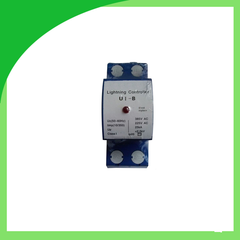 UI-B 385V 25ka 1pole Surge Arresters Lightning Surge Protector Convenience and SafetyUI-B 385V 25ka 1pole Surge Arresters Lightning Surge Protector Convenience and Safety