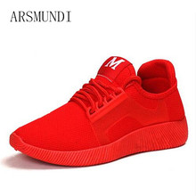 ARSMUNDI 2018 Spring and summer Designer Wedges Red Black Platform Sneakers Women Shoes Casual Air Mesh Female Woman M3