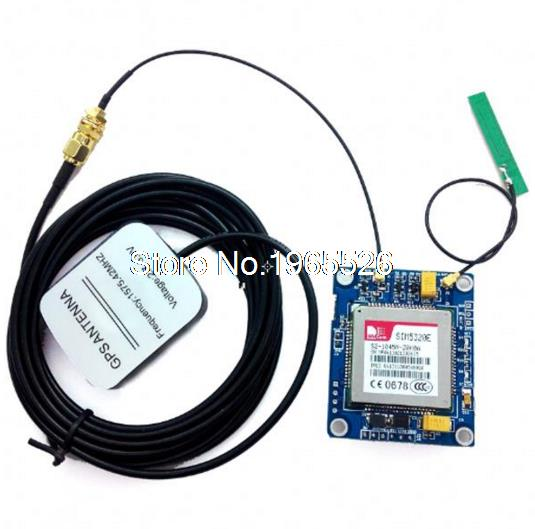 SIM5320E 3G Module GSM GPRS GPS Modules for  51 STM32 AVR MCU 4pcs lot free shipping sim5360e 3g wcdma gsm gprs edge gps module 100
