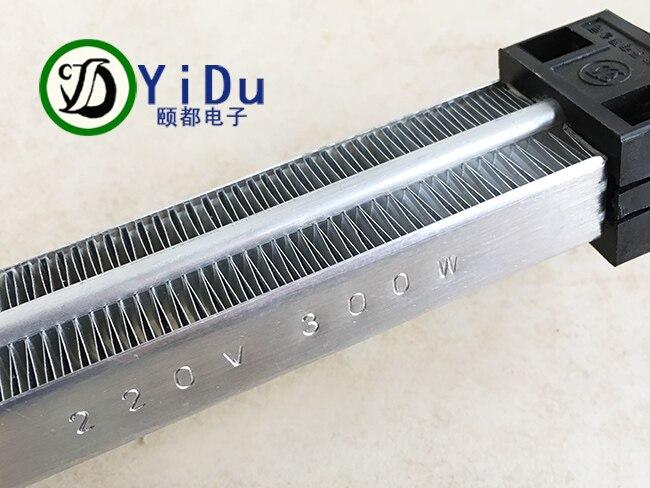 300 Вт AC DC 220 В Электрический Керамика обогреватель с термостатом PTC Керамика нагреватель воздуха 167*35 мм