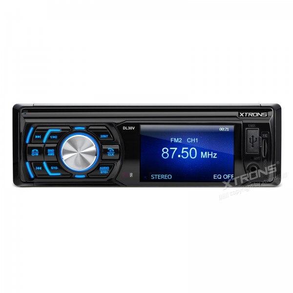 """XTRONS 1 din с 3"""" HD цифровой экран в тире автомобиля стерео Automotivo Аудио MP3 на USB SD плеер 1 din с FM-радио Retratil"""