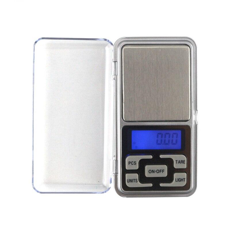 Micro Mini Balance de Poche Electronique 0,1g à 500g LCD Précision Bijoux Scale