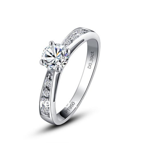 Free Shipping European And American Ba Jin Eight Heart Arrows Simulated Stone Ring Wedding Rings
