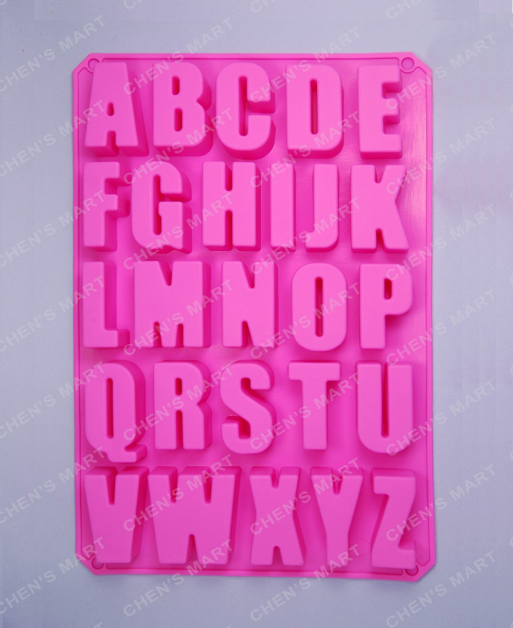 <font><b>Cake</b></font> Mold <font><b>1</b></font> pc 34x22.5cm Big Alphabet letter Silicone Mold Soap Mould <font><b>Cake</b></font> <font><b>Cupcake</b></font> Baking Bakeware <font><b>Chocolate</b></font> Soap Decorating