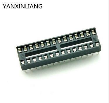 10 stücke DIP-28 28 PIN 28PIN DIP Ic-sockel-adapter Solder Typ Narrow