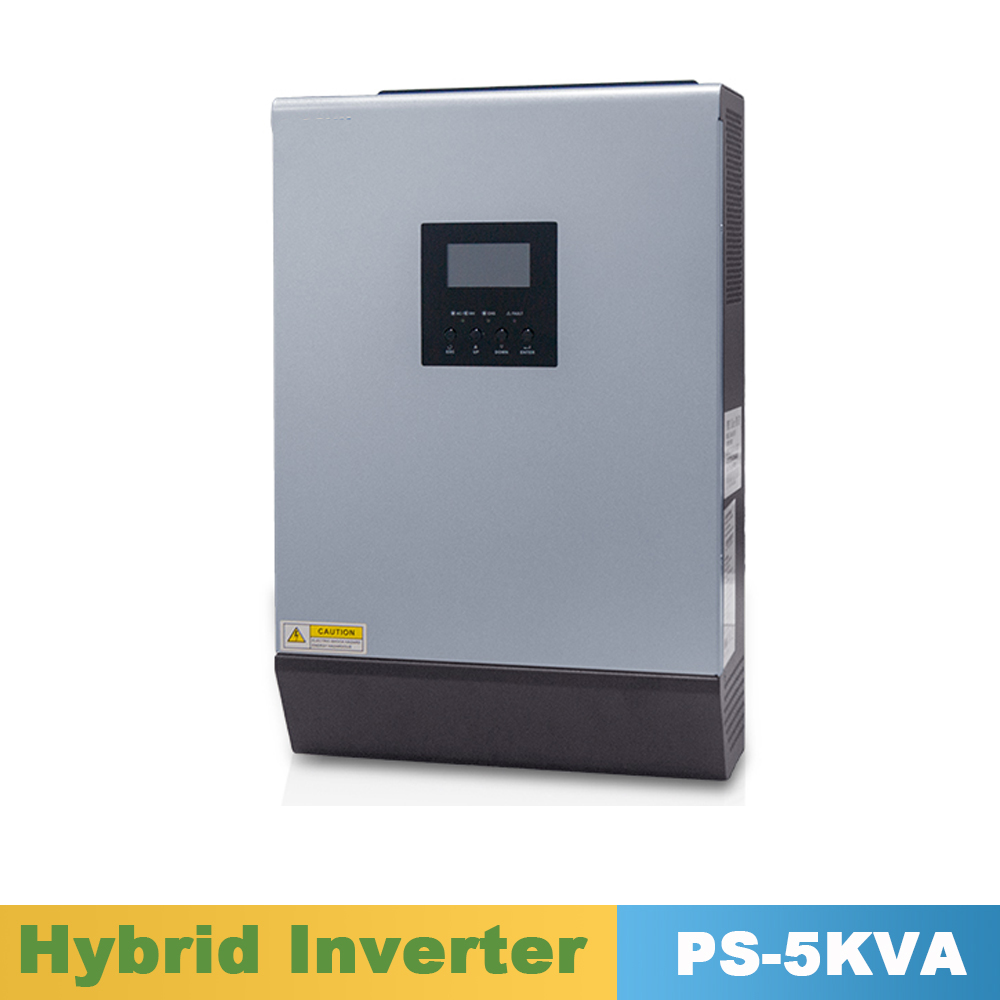 цена на 5000VA 4000W Pure Sine Wave Inverter Hybrid Inverter 48VDC Input 220VAC Output with PWM Solar Charger Controller 50A