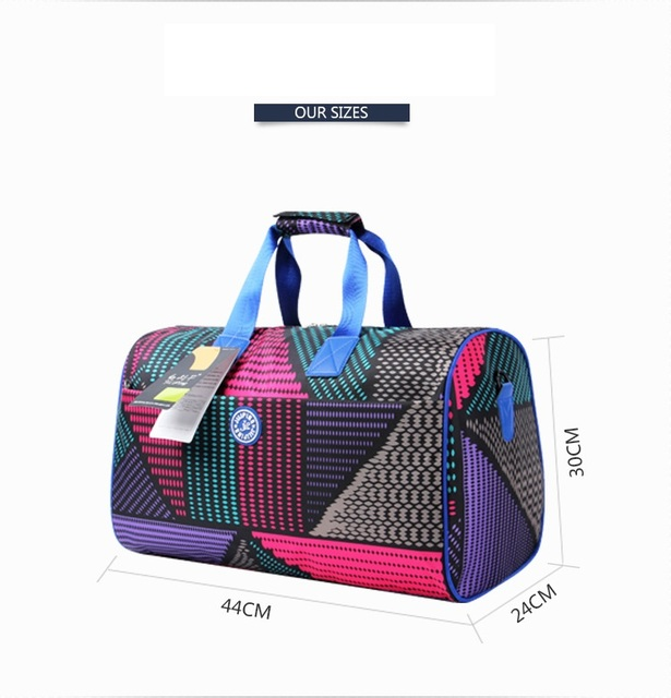 free Shipping 2016 Brand Designer High Quality nylon waterproof Sport Bag Gym Bags Sport Bag Women/men Shoulder Messenge