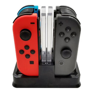Image 4 - Nintend Swith Pro Controller Charger Stand and Nintend Switch Joycon Charging Dock Station With LED Light For Nintendo Switch NS