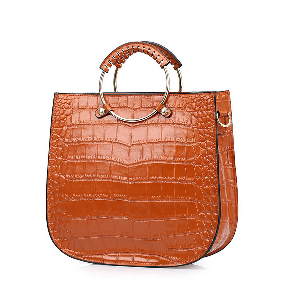 New Fashion Alligator Rristband Women's genuine leather handbag Shoulder bag crossbody bags for Women Messenger bags Tote bags 2015 new women handbag genuine leather bag casual tote hot shoulder bags alligator pattern women messenger bags crossbody bag
