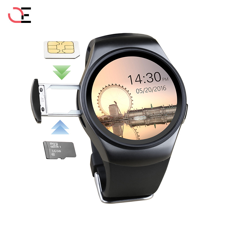 LEMFO KW18 Smart Watch Bluetooth Heart Rate Monitor Intelligent smartWatch Support SIM TF Card for apple samsung Phone hot kw18 bluetooth smart watch smartwatch phone support sim tf card fitness wristwatch for apple samsung gear s2 huawei