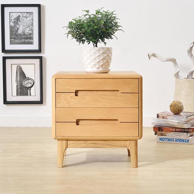 Anese Fashion Minimalist Bedside Cabinet Modern