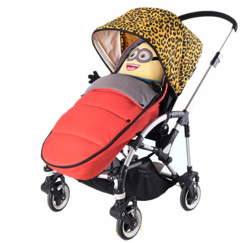 Nowy yoya plus vovo Bugaboo duży wózek z polaru nóżki worek niemowląt wózek wózek spacerowy dla noworodka śpiwór ciepłe koperty