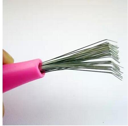 7 unids/lote Peine Cepillo Limpiador Removedor de Limpieza Embedded envío libre