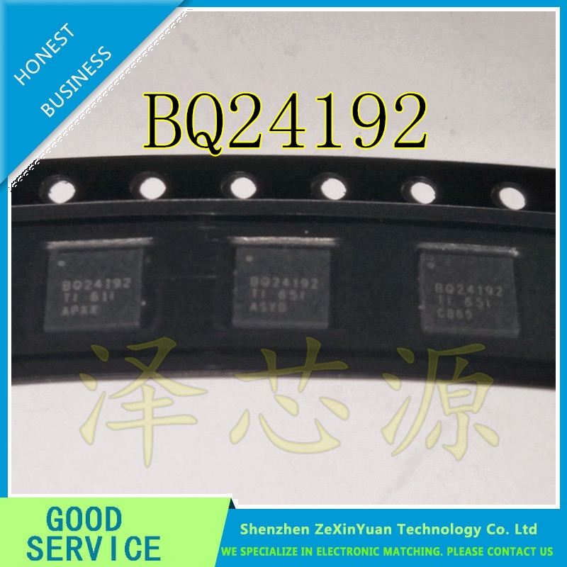 10PCS/LOT BQ24192RGER BQ24192 24192 BATT CHARGE MGMT 24VQFN