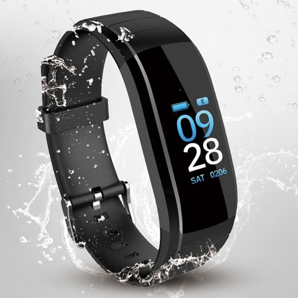 Fitness Sports smart watch men Heart Rate Monitor Smart Bracelet Color blood pressure measurement running Tracker Bracelet clock