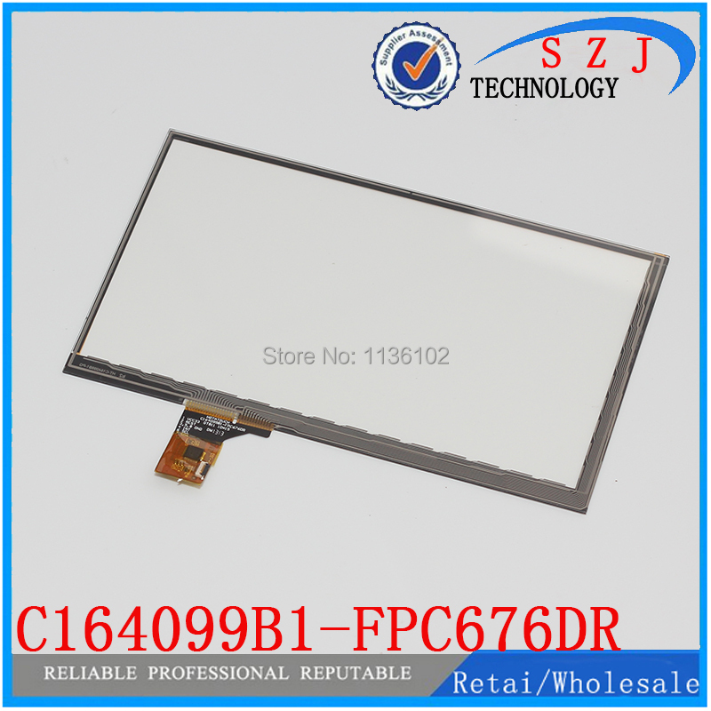 Original 7 inch C164099B1-FPC676DR Capacitive Touch screen Panel digitizer Glass for Tablet MID Free shipping black capacitive touch screen digitizer glass 9 7 inch tablet touch panel replacement ad c 971242 fpc free shipping