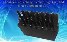 8 порт модемный пул с Q2406 с TCP/IP рассылки SMS