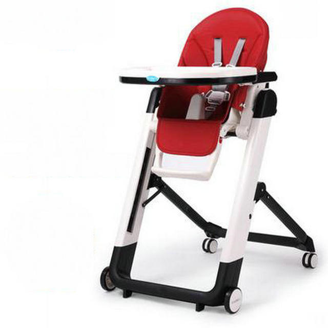 Adjustable Baby Feed Chair Multifunction Foldable Baby Highchair For 0-4 Years Old