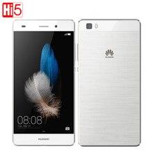"Original Huawei P8 Lite ALE-UL00 Hisilicon Octa Core 4G LTE Mobile Phone 13MP Dual SIM 2GB RAM 16GB ROM 5.0"" HD Android 5.0"