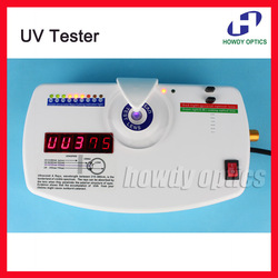 13B Lente Óptica Anti-radiação de Raios Ultravioleta UV Detector Tester Medidor