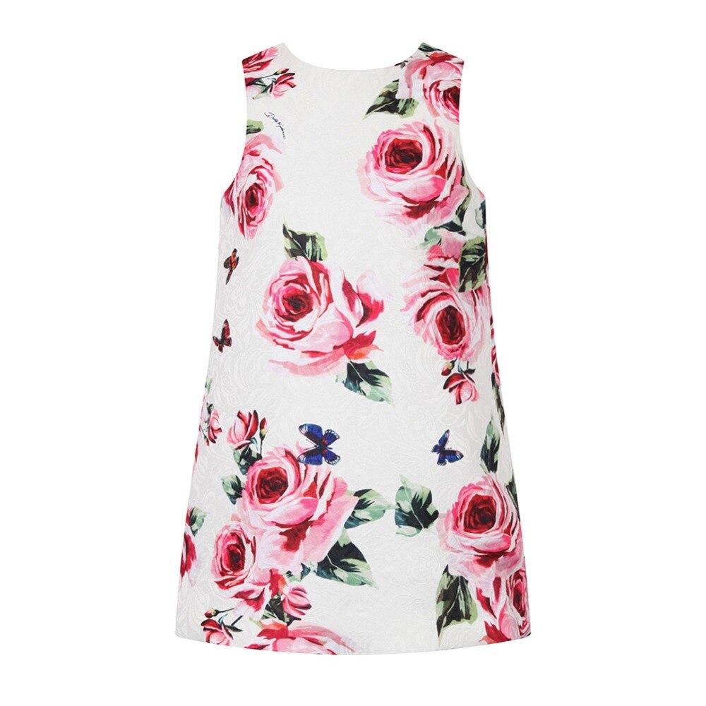 Flower A-Line Girl Dresses 2018 Brand Summer Baby Girls Clothes Princess Dress Children Costume for Kids Dresses Vestidos