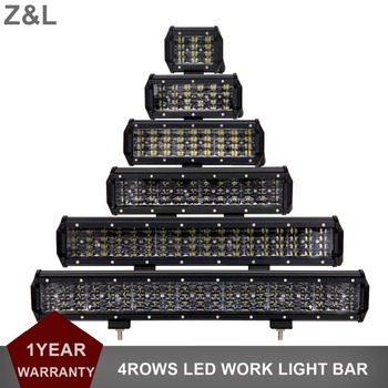 4 9 12 20 INCH OFF ROAD LED WORK LIGHT BAR CAR SUV TRUCK 4X4 MOTORCYCLE WAGON 12V 24V AUXILIARY DRIVING LAMP EXTRA INDICATOR