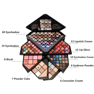 Image 4 - New Brand Diamond Case makeup kit,Fashion cosmetics set,Beauty gift,Grooming powder Concealer,Magic Eyebrow, Charming eyeshadow