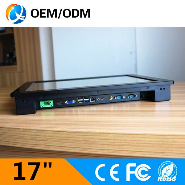 17 industrial pc embedded touch screen1280x1024 tablet computer with i3 1 9GHz CPU Installation desktop wall