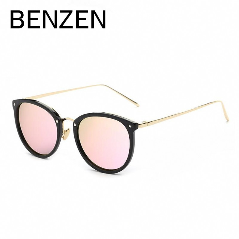 bbf5ae898 BENZEN Sunglasses Women Brand Designer Polarized Female Sun Glasses Vintage  Ladies Shades Driving Glasses Black With Case 6188-in Sunglasses from  Women's ...