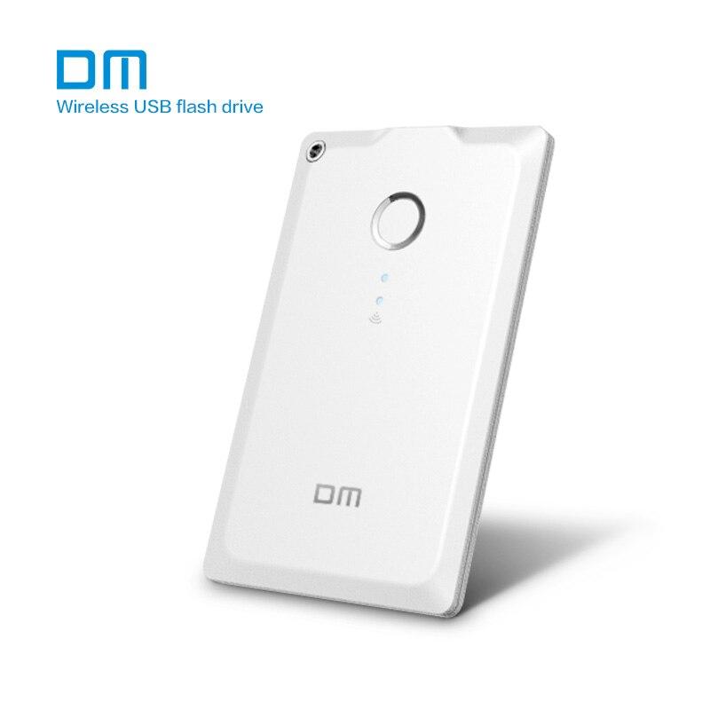Livraison gratuite DM WFD009 32 GB 64 GO WIFI clé usb Lecteurs WIFI Pour iPhone/Android/PC Smart Stylo drive Mémoire clé usb