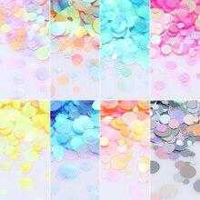 Nail Glitter Set Semi-transparent Kit