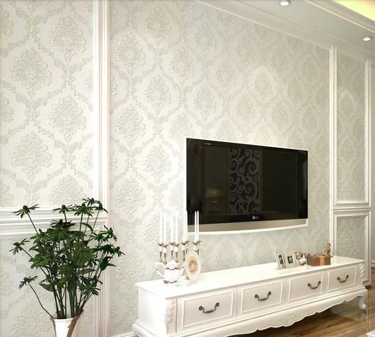 Marvelous Aliexpress.com : Buy Modern Damask Feature Wallpaper Wall Paper Roll For Living  Room Bedroom 10m/roll From Reliable Paper Point Suppliers On Lu0026S Homeware  ... Part 12