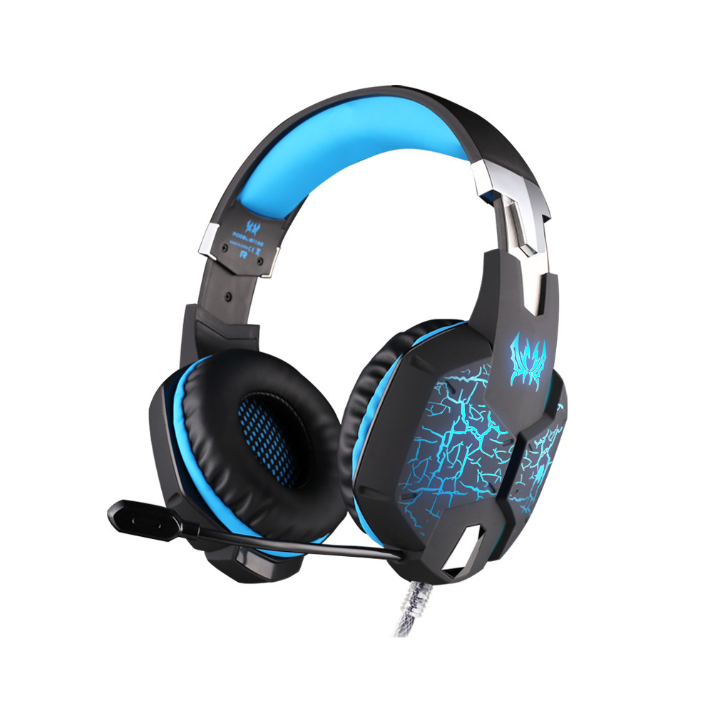 EACH G1100 Vibration Function Gaming Headset Headphone Casque with 7.1 Heavy Bass Surround Sound Led Light Mic For PS4 PC Gamer each g5200 7 1 surround sound game headphone computer gaming headset headband vibration with mic stereo bass breathing led light