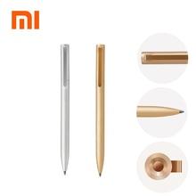 Xiao mi jia металлические ручки PREMEC гладкие швейцарские Сменные ручки 0,5 мм ручки для подписи mi алюминиевый сплав черные чернила для ручек