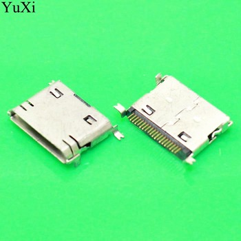 micro 20P phone charging tail port,Micro USB jack connector socket,For Samsung E258 D520 E250 D508 D808 E500 D720 D820 E900 image