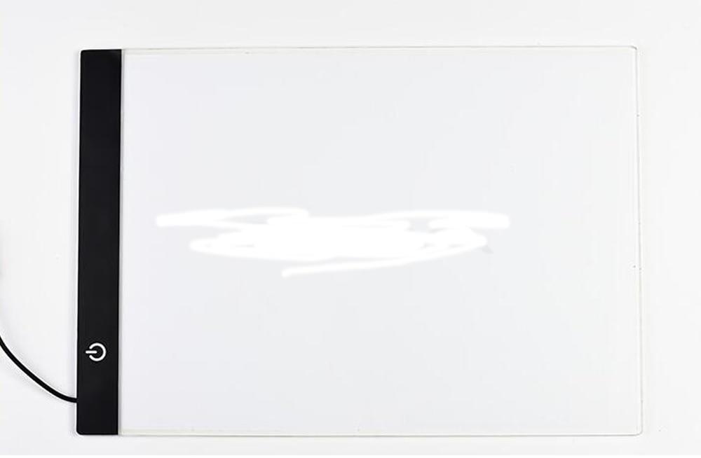 Ultradunne 3.5mm A4 LED Light Tablet Pad gelden EU/UK/AU/US/USB Plug diamant Borduurwerk Diamant Schilderij Kruissteek