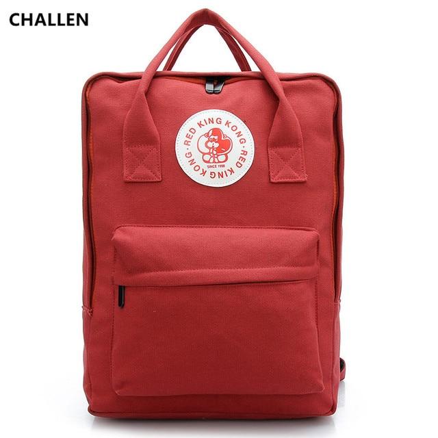 2017 New Style Canvas Backpacks Women Backpacks School Bags Girls Student Book Bag Schoolbag Bolsas Mochilas Femininas CH032