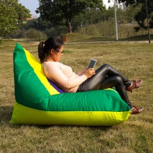 Free Shipping 120 126 85cm Computer Brazil Flag beanbag soft Cover Removable Bean Bag Chair