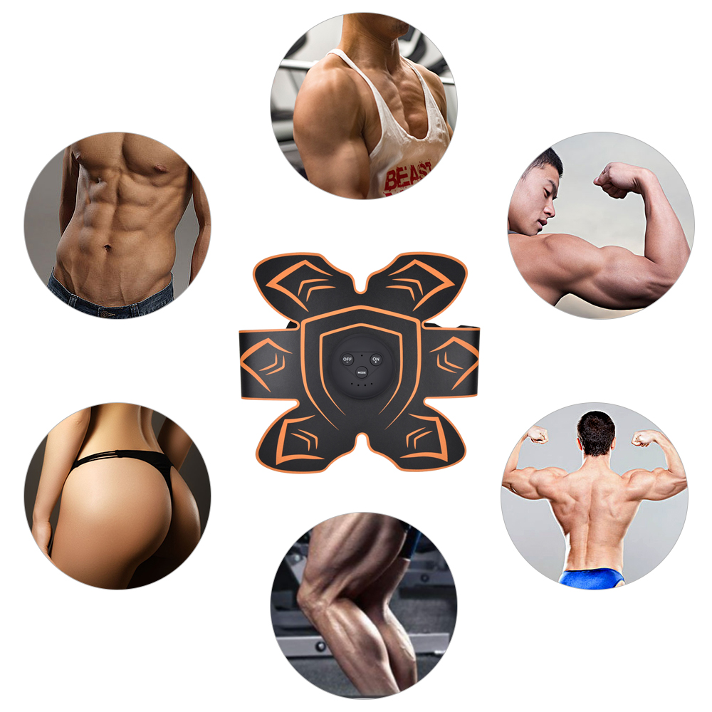 Vibration Fitness Massager Abdominal Muscle Trainer  (1)