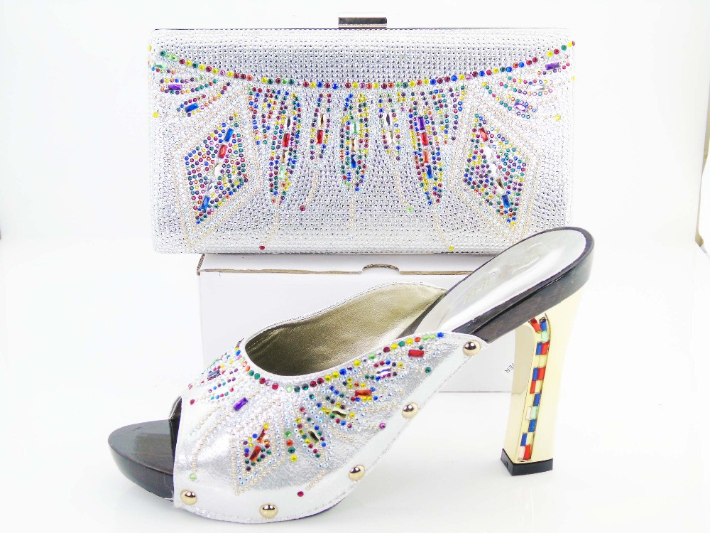 Aliexpress Buy Green African Womens Shoes Matching Bag Set For Prom Women Sandal Fashion Italian Wedding And Bags To Size 37 43 From