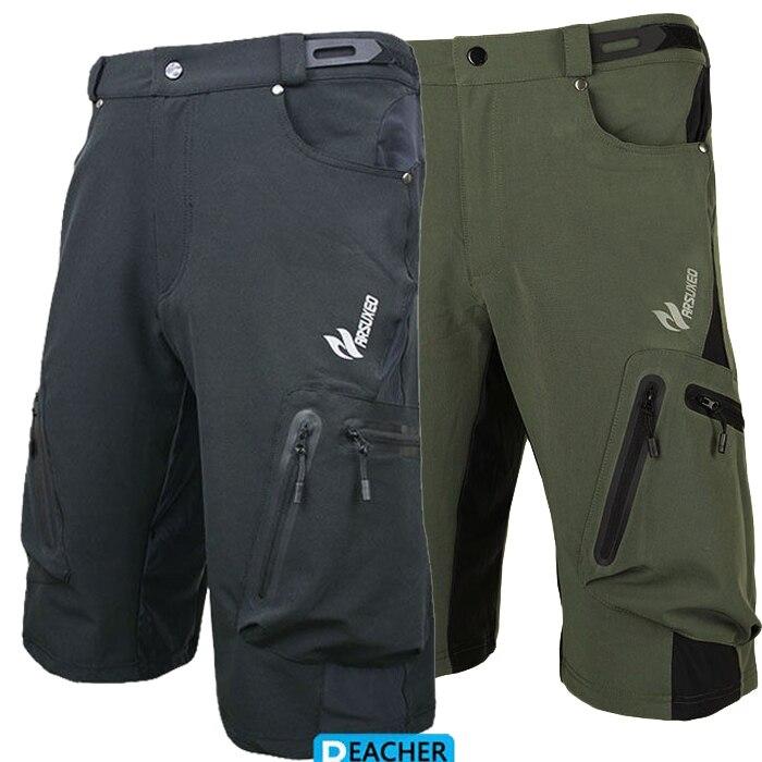 Цена за Мужские велоспорт велосипед избавления спуске горные шорты носить спортивной короткий велосипед открытый ходовые брюки Лайкра