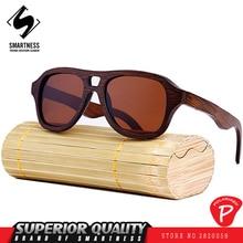 Hot Sale New 2017 Fashion SMN brand Polarizing glasses retro wooden colorful classic bamboo men and women All-match sunglasses