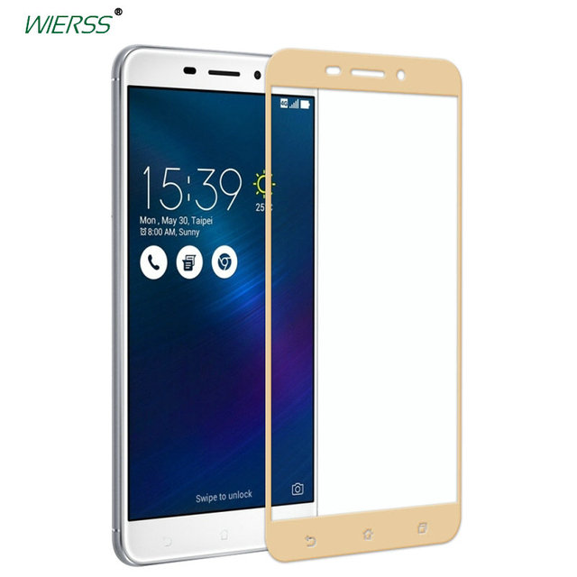 For Asus Zenfone 3 Laser ZC551KL Full Cover Tempered Glass Screen Protector