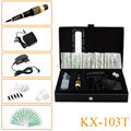 New KX-103T Dragon Permanent Makeup Eyebrow Tattoo Mosaic Machine Kit Cosmetic Pen Pedal Needles Tips Power Supply Free Shipping