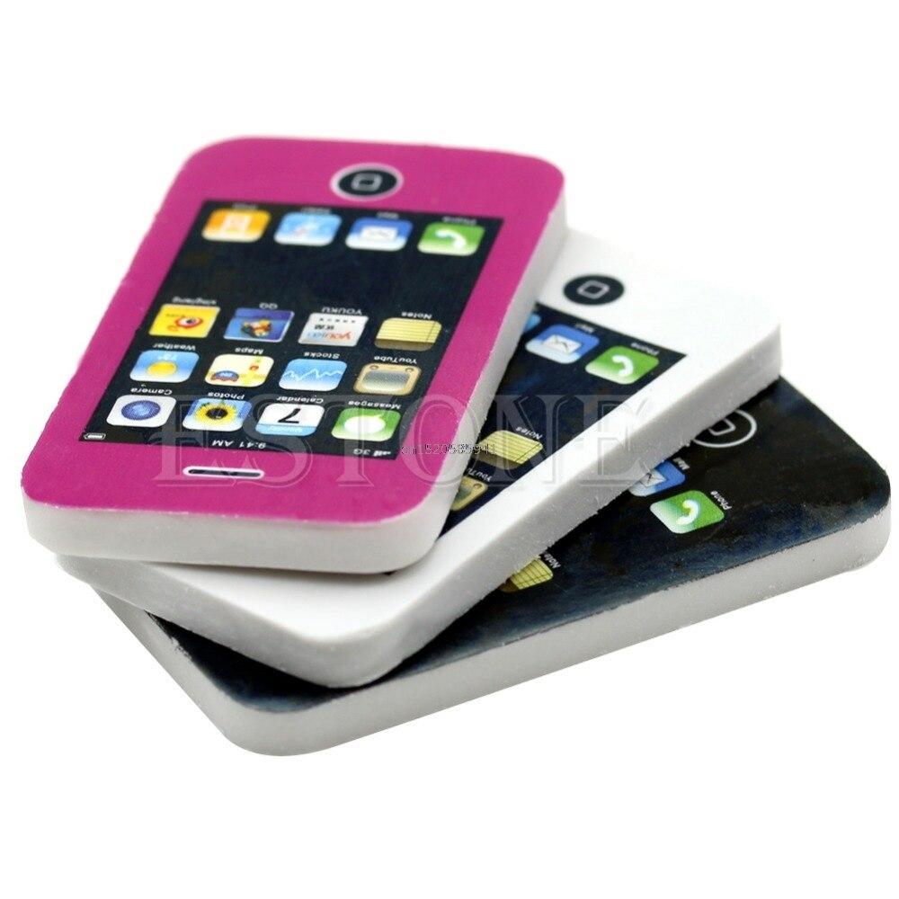1 Stück Handy Geformt Studenten Schreibwaren Geschenk Spielzeug Gummi Nette Radiergummi